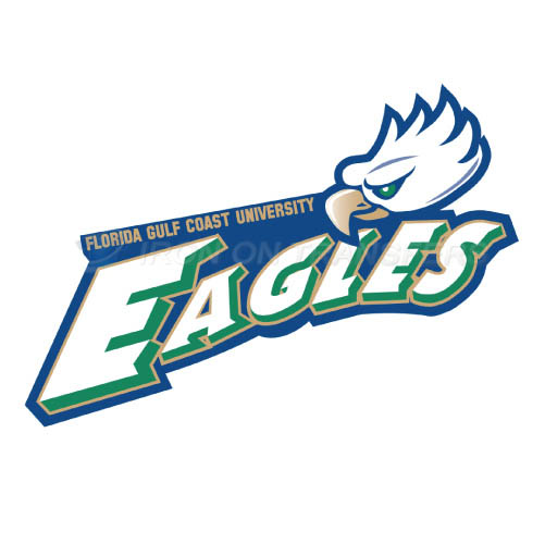 Florida Gulf Coast Eagles Iron-on Stickers (Heat Transfers)NO.4393